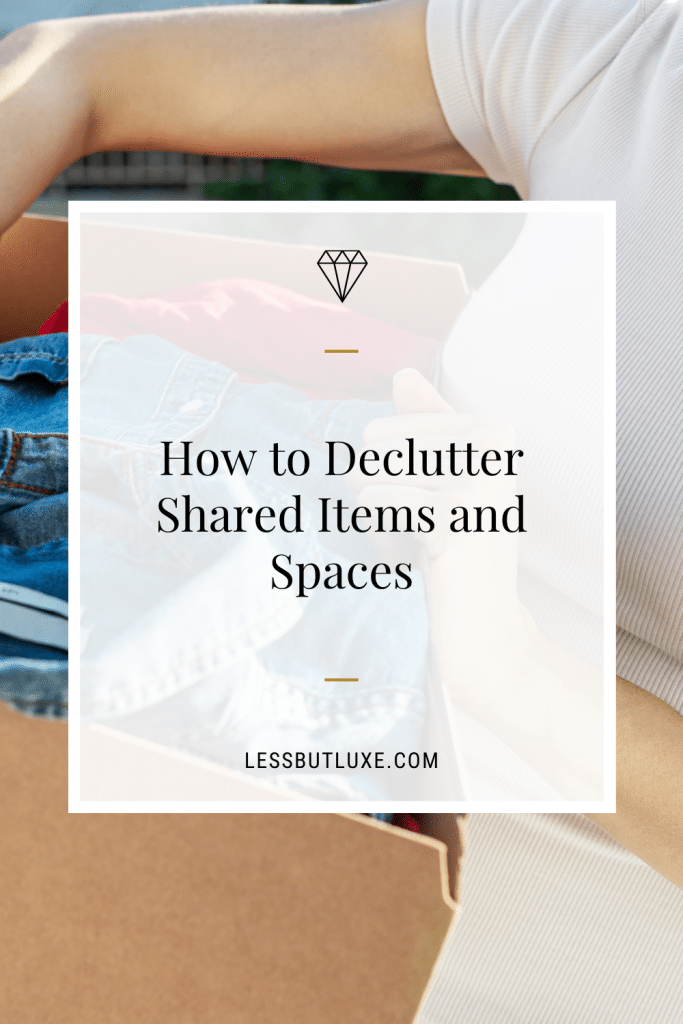 Declutter When Your Partner Not on Board