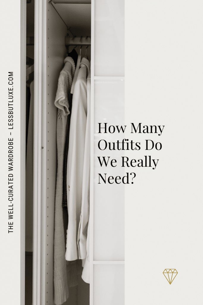 How Many Outfits Do We Need