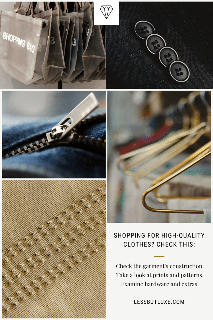 How to Spot Quality Clothes